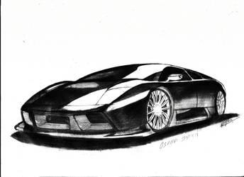 Lamborghini Murcielago by osamashaikh