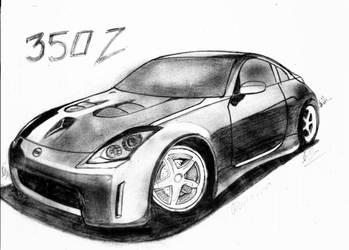 Nissan 350Z by osamashaikh