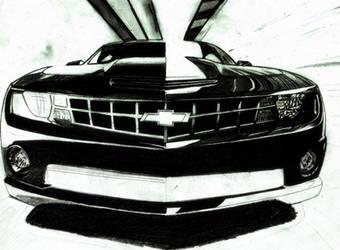 Chevrolet Camaro W.I.P by osamashaikh