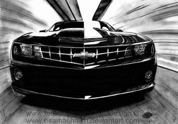 Chevy Camaro by osamashaikh
