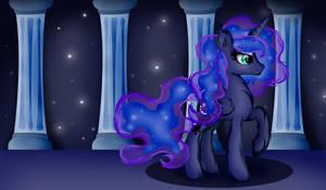 Hairy Princess Luna