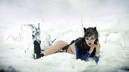 Abominal Snow Kitteh. by KassandraLeigh