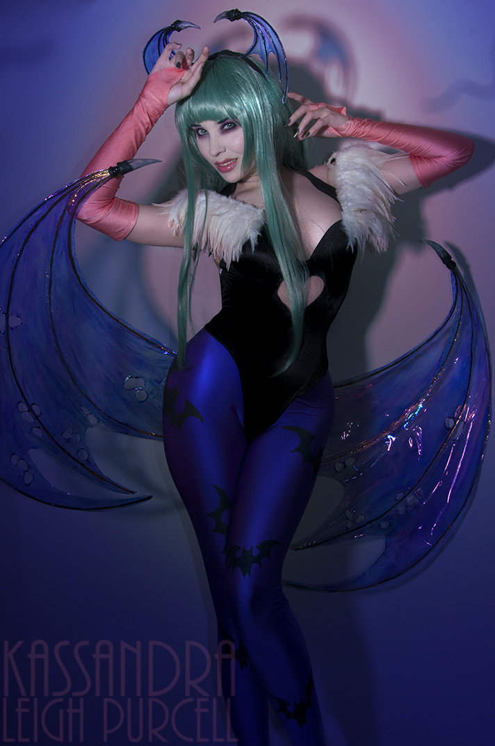 Darkness Illusion - DarkStalkers Morrigan. by KassandraLeigh