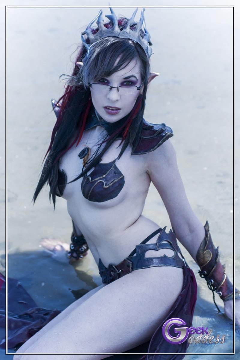 Winds of Chaos - Dark Elf Sorceress. by KassandraLeigh