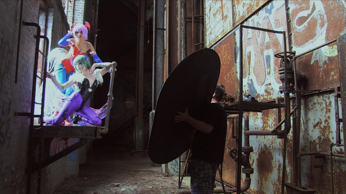DarkStalkers Cosplay: Behind the Scenes by KassandraLeigh