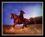 Arabian Dreamer by BlueBird-Graphics