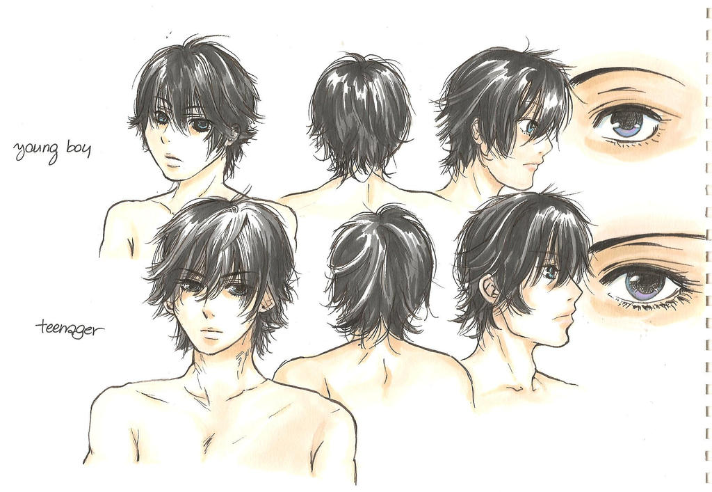 Anatomy comparison - Young boy/Teenager by yoolin on DeviantArt