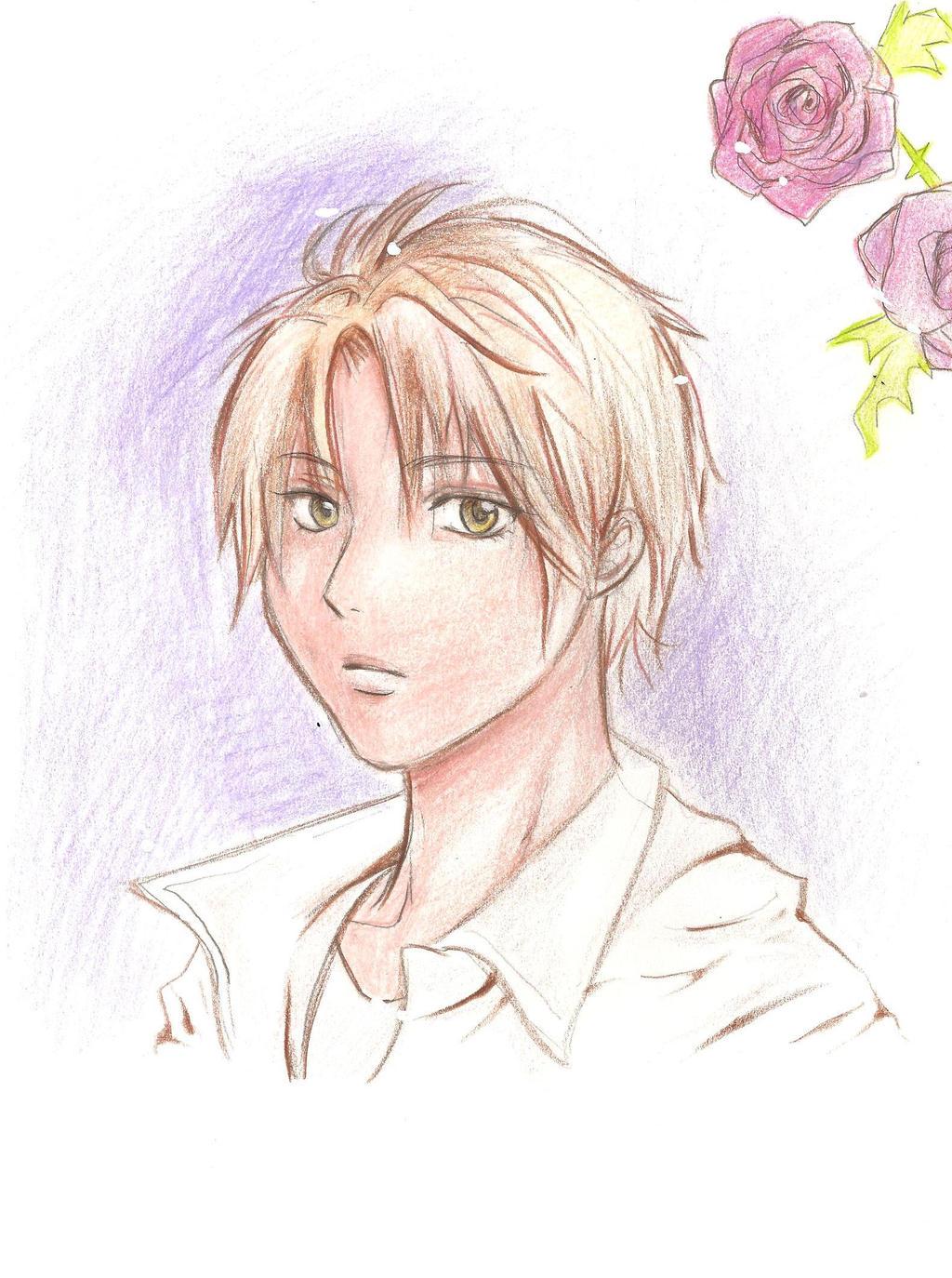 20-minute sketch : Yuki Sakurai (UraBoku) fanart by yoolin
