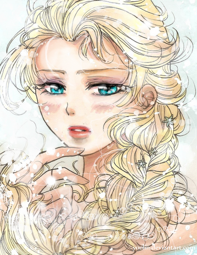 Elsa (Frozen) by yoolin