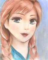 Anna (Frozen) by yoolin