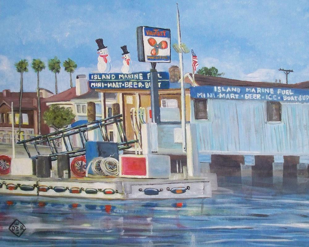Balboa Fuel by TomOliverArt