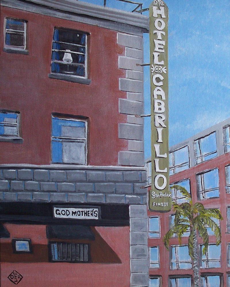Hotel Cabrillo by TomOliverArt