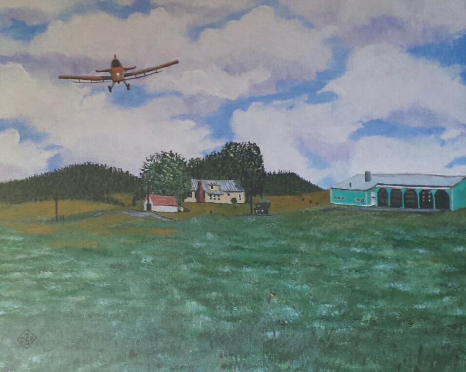 Marks Farm by TomOliverArt
