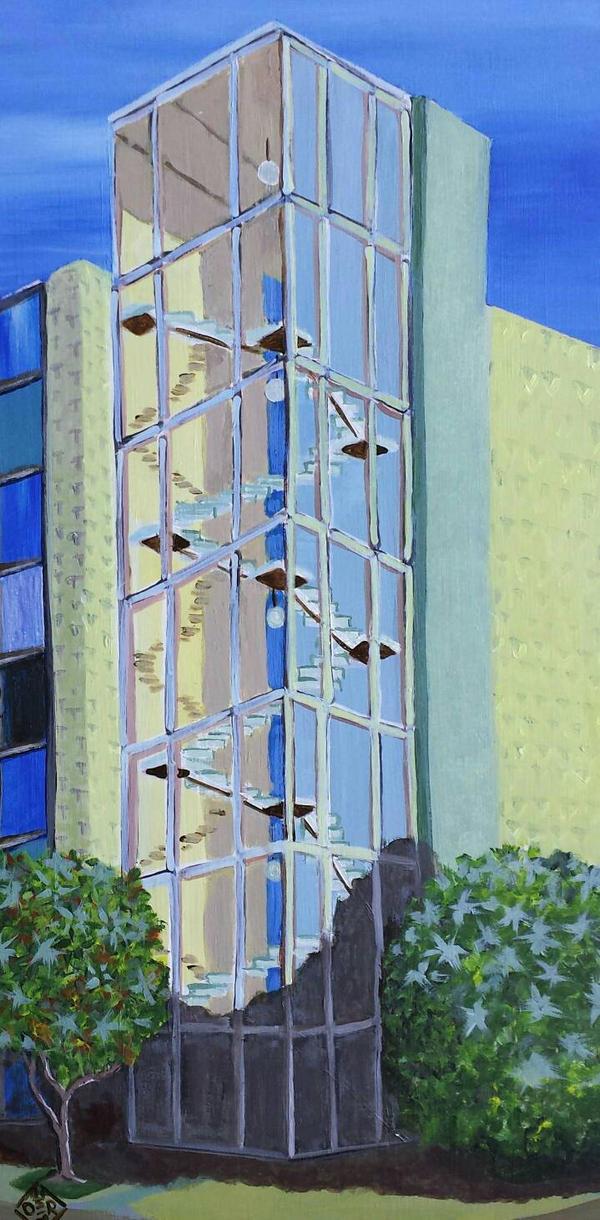 Long Beach Glass by TomOliverArt