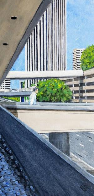 Bonaventure Bridges- Los Angeles