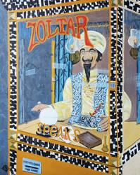Zoltar Speaks  - acrylic on canvas panel  20 x 16