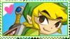 stamp :: toon link by kinies