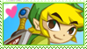 stamp :: toon link by kinies