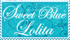 stamp :: blue sweet lolita by kinies