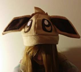 Eevee Hat by yoyoninjagirl