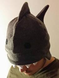 Shark Hat by yoyoninjagirl