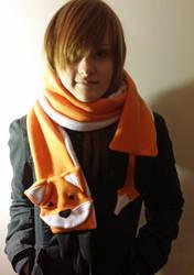 Fox Scarf by yoyoninjagirl