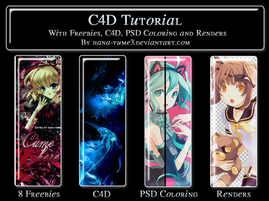 C4D Tutorial Pack by hana-yume3