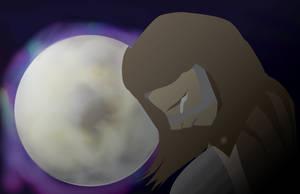 Lunar mourning by sh0tybumbati