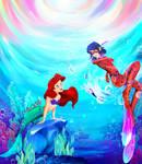 Ariel and Ladybug