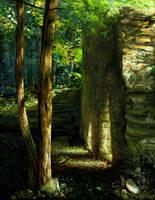 Speedie - Grist Mill Study by mynti