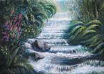 Memory Doodle - Tropical Water