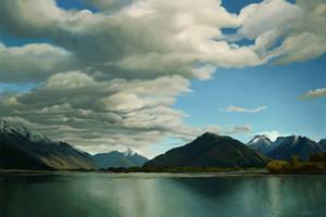 Paradise Lake by mynti