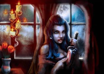 vampire by tyrano666