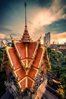 Sarn Jao Por sue Thep Thun Jai shrine by Tairenar