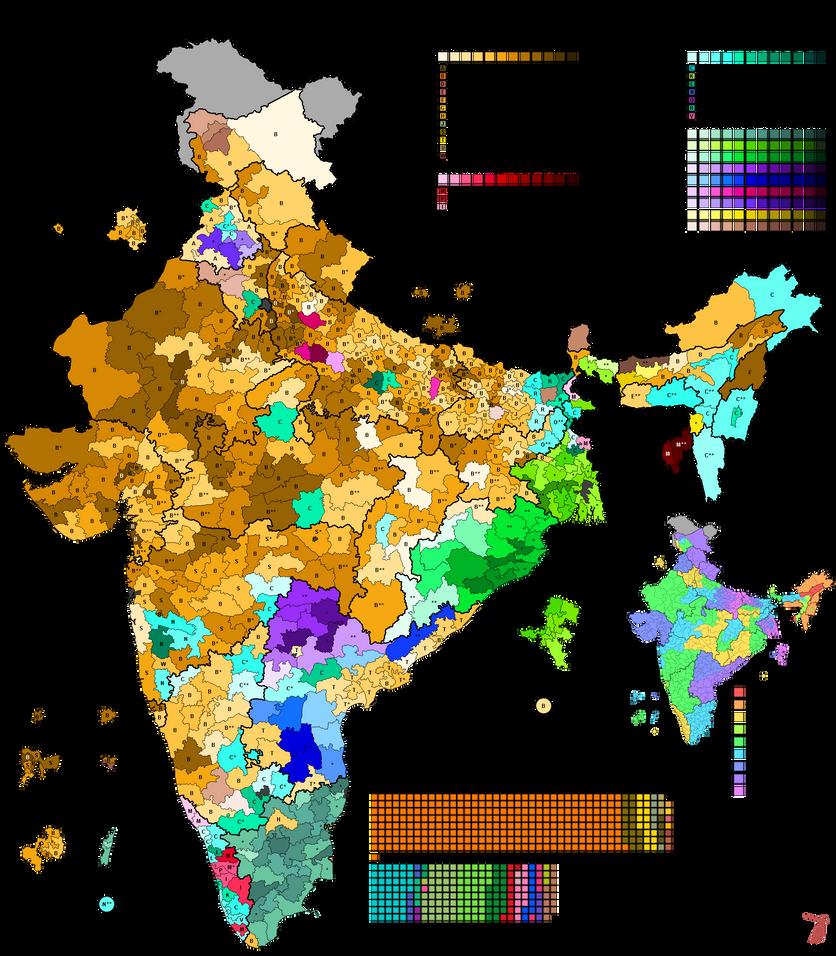 Indian General Election, 2014 by AJRElectionMaps on DeviantArt