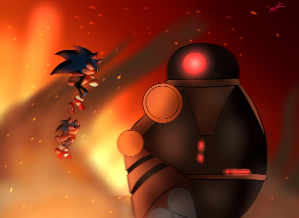Sonic forces by Vegetitakawaii