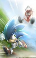 Sonic :: Sonic n Knuckles by AkiruNyang