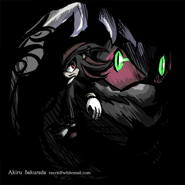Sonic :: Shadow and Mephiles by AkiruNyang