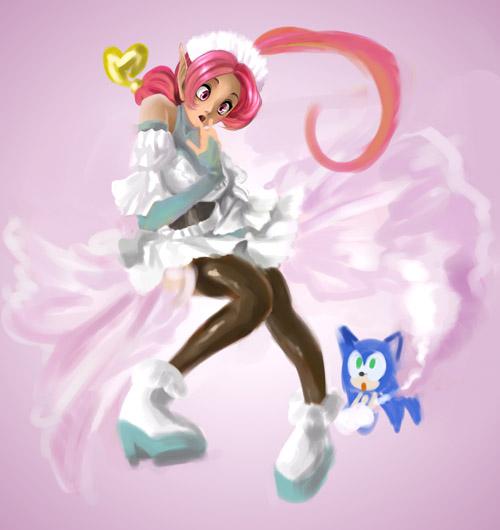 Sonic :: Shahra The Maid By AkiruNyang On DeviantArt