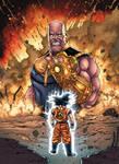 Thanos VS Goku (Colors)