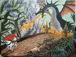 Prince Valiant vs Maleficent from Sleeping Beauty
