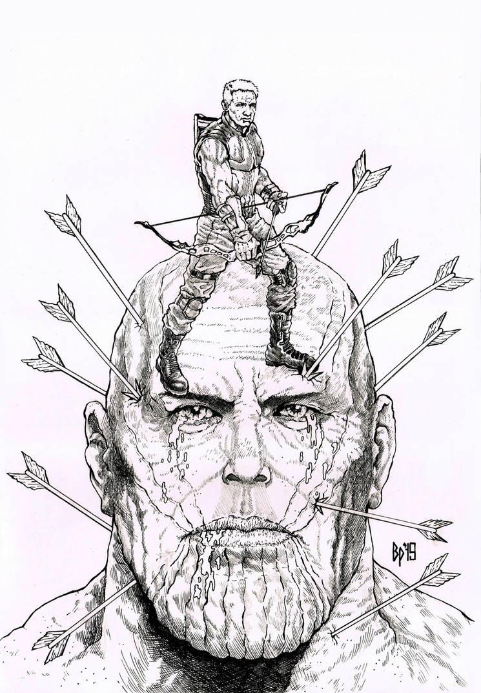 Tears of Arrow by ObbArt