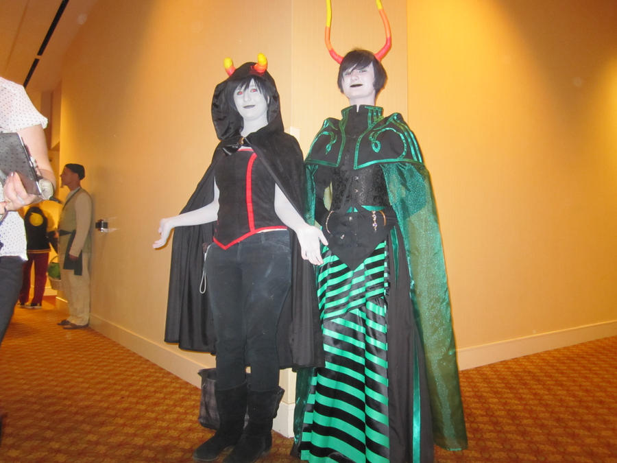 Kumoricon2012- Almost Like Mother and Son by KamiyaAkuto