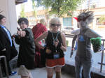 Kumoricon2012- Double Striders and a Wink