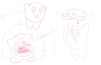 Kirby Sketches 1 by KamiyaAkuto