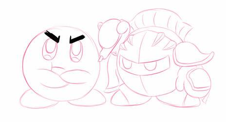 Kirby Sketches 3 by KamiyaAkuto