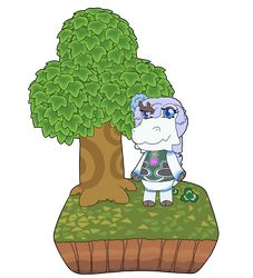 ACNH Hortensia (Villager)