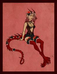 [Gift] Dracofleur Gatcha - Scarlet