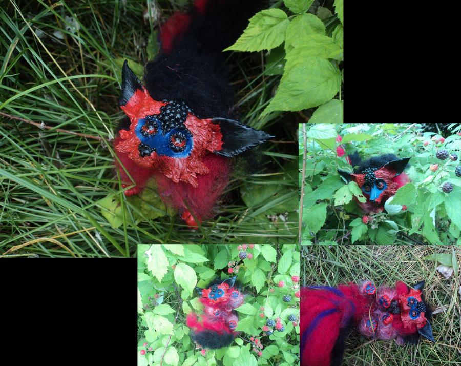 Blackberry Fox by superayaa