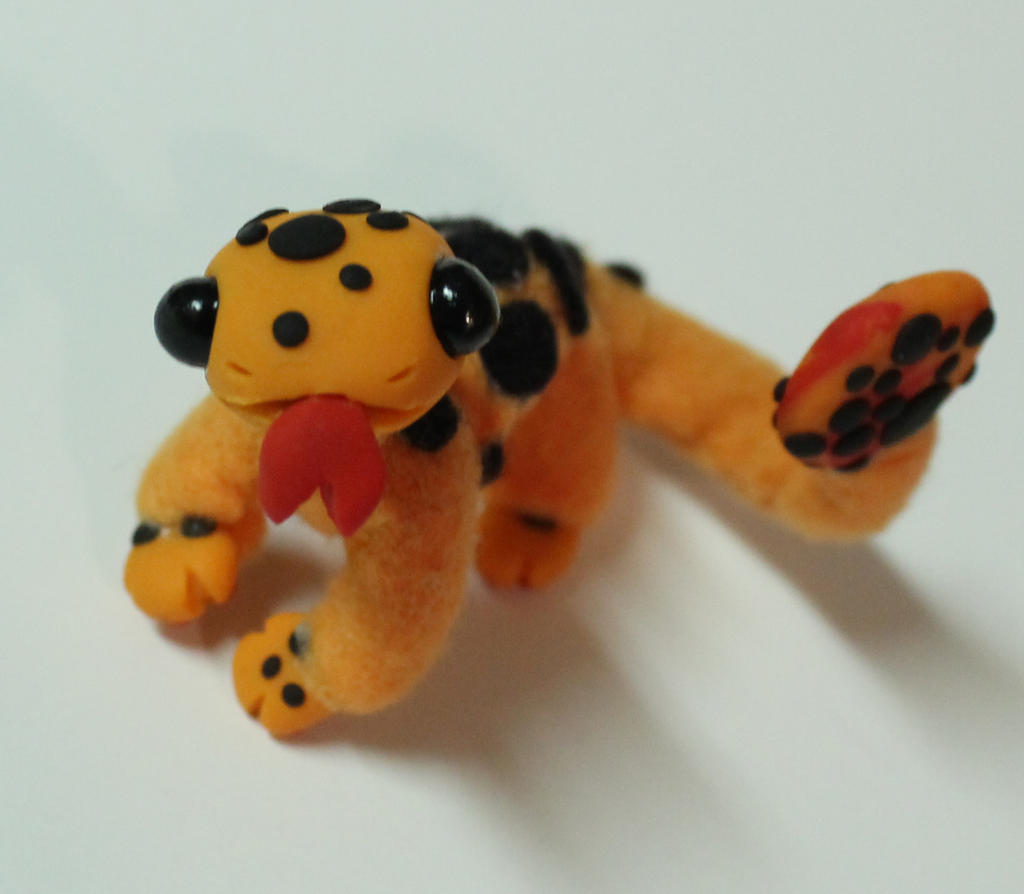 Micro Monster-Orange spotted Manderdrake- SOLD by superayaa